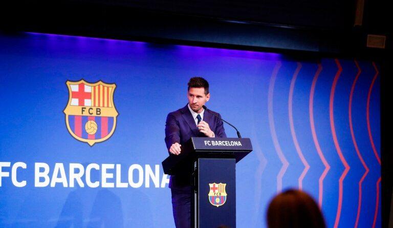 FOOTBALL - PSG Mercato: Lionel Messi drops a hint about his next destination