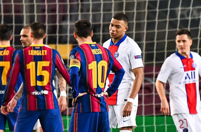 Mbappé pushed out by Messi?