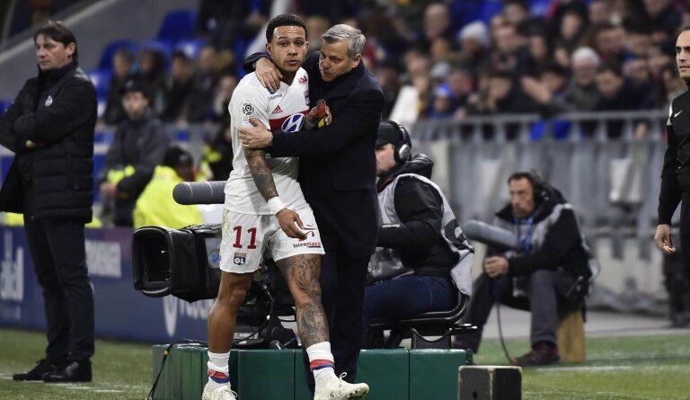 Football - Stade Rennais: Bruno Genesio responds to Memphis' criticism