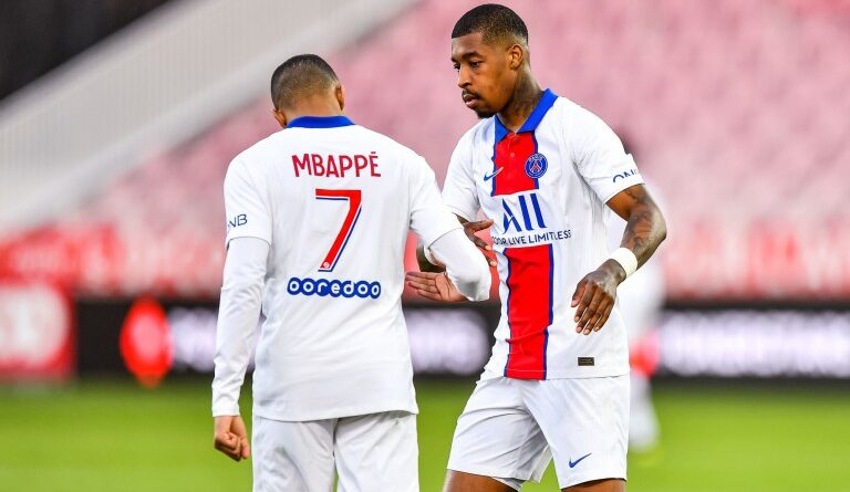 FOOTBALL - Bayern- PSG: Kylian Mbappe and Kimpembe split on Lewandowski