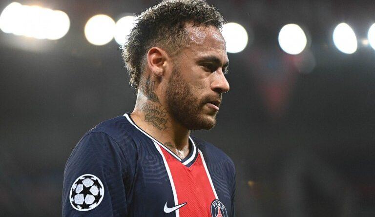 PSG : Neymar Jr's reaction after the defeat against City