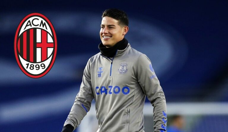 FOOTBALL - AC Milan Mercato: James Rodriguez soon at the Rossoneri?